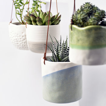 Wave Hanging Pot