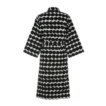 Rasymatto Bathrobe - White/Black