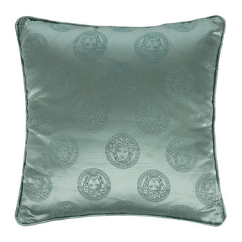 Medusa Royale Silk Pillow - 45x45cm - Blue