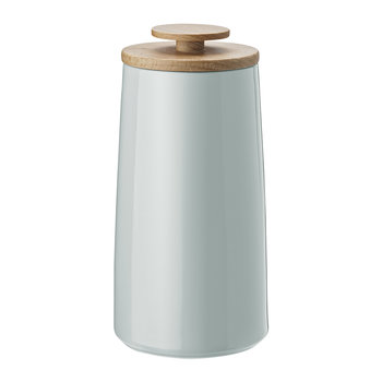 Emma Tea Canister/Storage Jar - Small - Light Green
