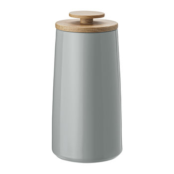 Emma Tea Canister/Storage Jar - Small - Grey