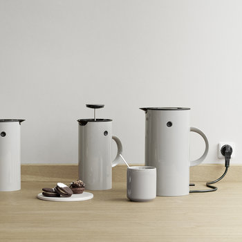 EM French Press - Light Grey