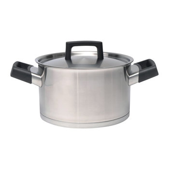 Ron Stainless Steel Casserole Dish - 20cm