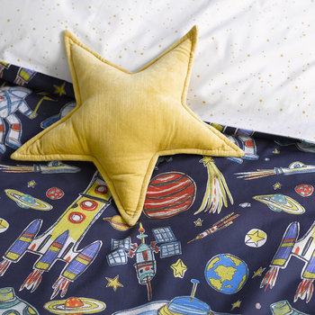 Blast Off Duvet Set - Blue