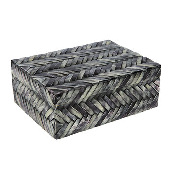 Grey Chevron Box