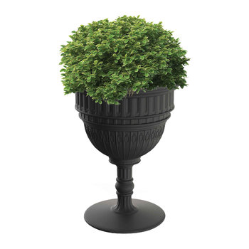 Capitol Champagne Bucket/Planter - Black