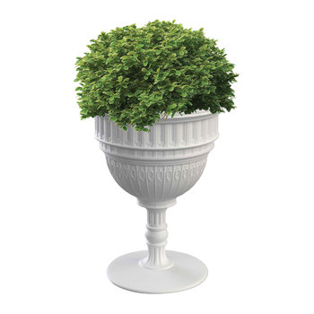 Capitol Champagne Bucket/Planter - White