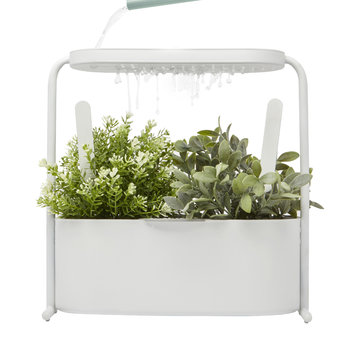 Giardino Metal Herb Planter - White