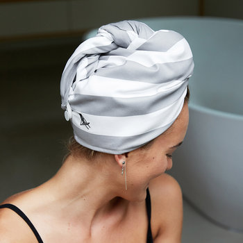 Cabana Hair Wrap - Goa Grey