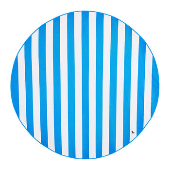 Cabana Round Beach Towel - Bondi Blue
