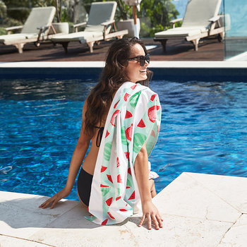 Fruity Beach Towel - Wild Watermelon