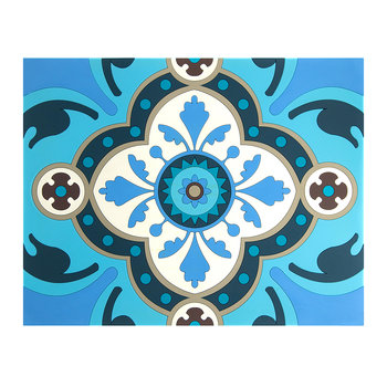 Set of 2 Rectangular Placemats - Sejjadeh Azur