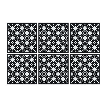 Set of 6 Coasters - Silsal