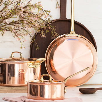Gustibus Copper Clad Frying Pan