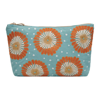 Lamu Travel Pouch - Nile Blue