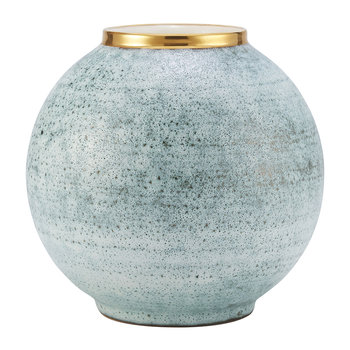 Calinda Round Vase - Blue Grotto