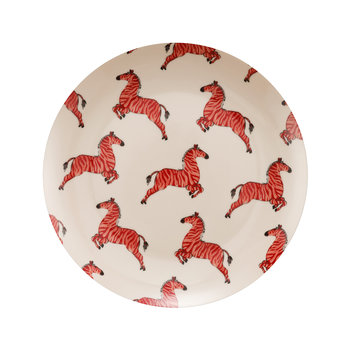 Zebra Plate - Set of 2 - Breakfast Plate