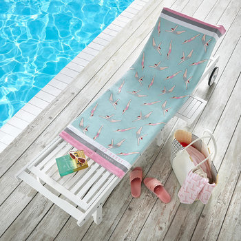 Knickerbocker Beach Towel - Duck Egg