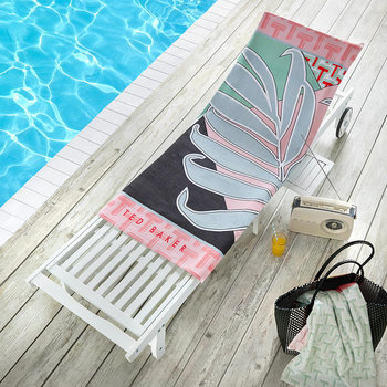 Palm Beach Towel - Pink