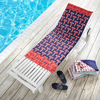 Ted T Beach Towel - Red