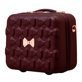 Beau Vanity Case - Burgundy - Limited Edition