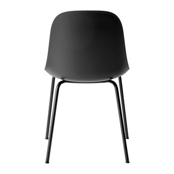 Harbour Dining Side Chair - Black Steel