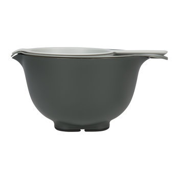 Mixing Bowl, Colander & Sieve Set - Grey
