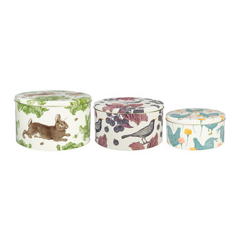 Rabbit & Cabbage Cake Tins - Set of 3