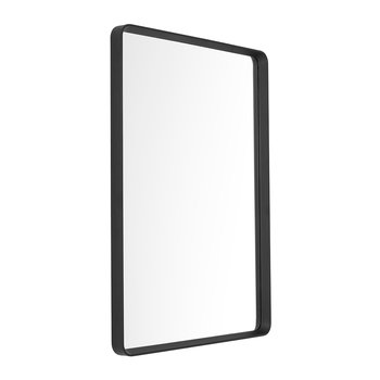 Norm Rectangle Wall Mirror - Black