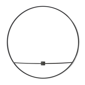 POV Circle Candleholder - Black