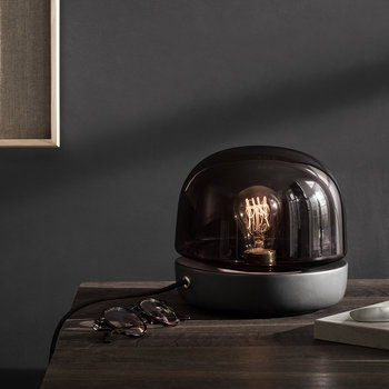 Stone Table Lamp - Anthracite