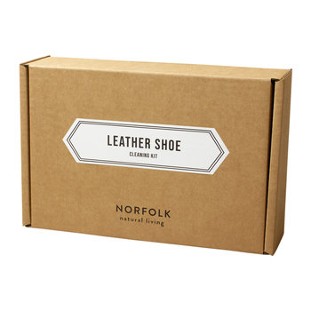 Norfolk Natural Living Leather Shoe Cleaning Kit
