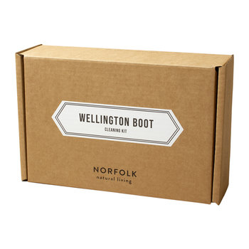 Norfolk Natural Living Wellington Boots Cleaning Kit
