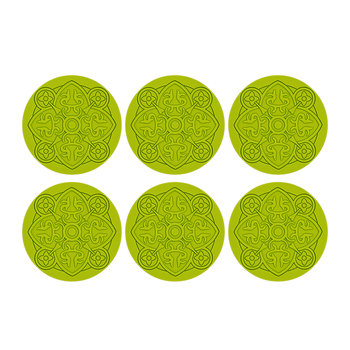 Round Urban 01 Coaster - Set of 6 - Anis