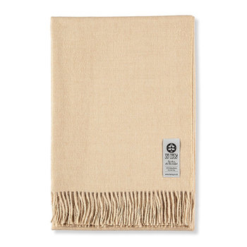 Emma Baby Alpaca Wool Throw - 130x200cm - Beige