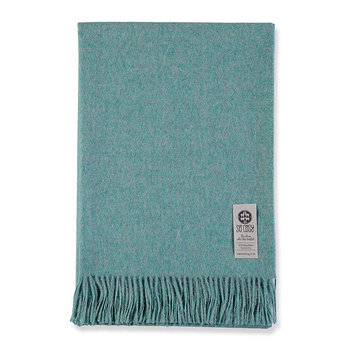 Emma Baby Alpaca Wool Throw - 130x200cm - Pastel Blue