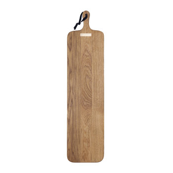 XL Slim Fit Solid Wood Bread Board - Oak