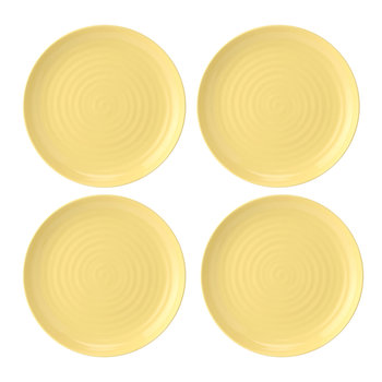 Colour Pop Dinner Plate - Set of 4 - Sunshine