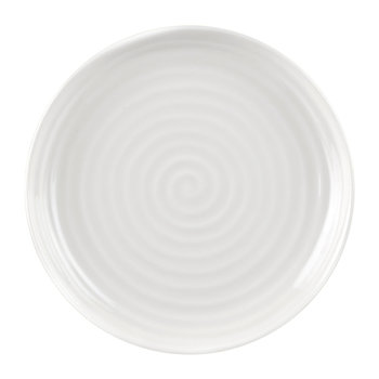 White Porcelain Coupe Side Plate - Set of 4