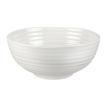 White Porcelain Noodle Bowl - Set of 4