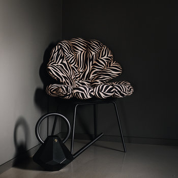Shell Water Repellent Seat Pad - Zebra
