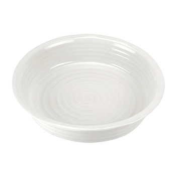 White Porcelain Pie Dish - Round