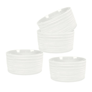 White Porcelain Ramekins - Set of 4