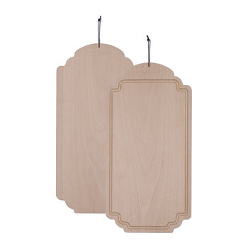 Frame Solid Wood Butter Board - Beech