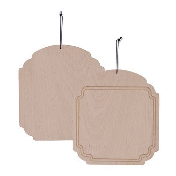Frame XS Solid Wood Butter Board - Beech