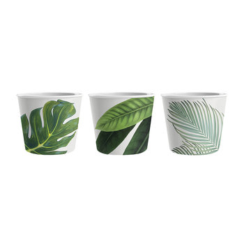 Amazon Floral Melamine Ice Cream Bowls - Set of 3