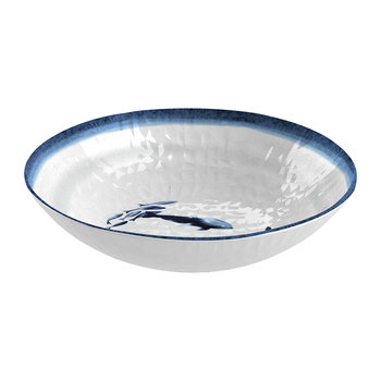 Coastal Melamine Salad Bowl