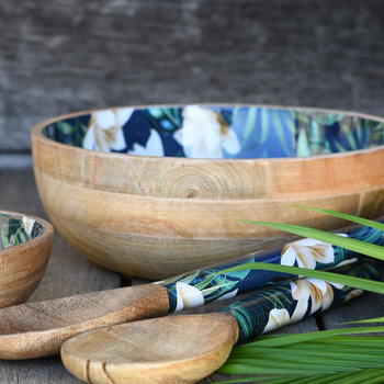 Java Mango Wood Bowl - Salad Bowl