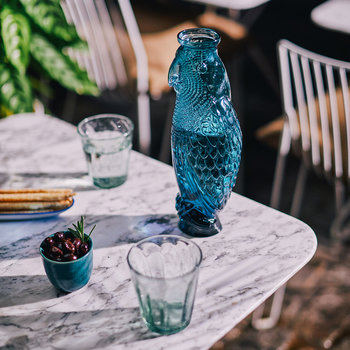 Cockatoo Carafe - Blue