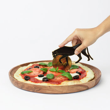 Savanna Pizza Cutter - Panther
